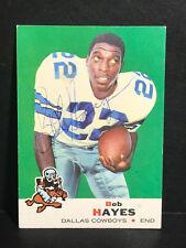 1969 Topps Football #6 Bob Hayes AUTOGRAPH Dallas Cowboys AUTO Signed L@@K