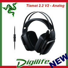 Razer Tiamat 2.2 V2 Virtual 7.1 Surround Sound Engine Analog Gaming Headset TS
