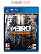 METRO REDUX - PLAYSTATION PS4 SUPER FAST  DELIVERY