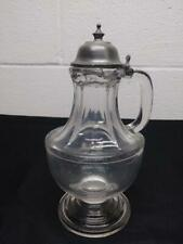 Antique Hobbs No. 94  Molasses Syrup Pitcher Can - 1/2 Pint
