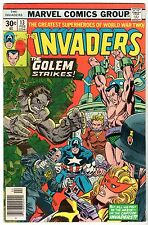 Invaders #13,  Fine Condition.