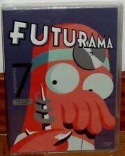 FUTURAMA 7º TEMPORADA COMPLETA 2 DVD NUEVO PRECINTADO CIENCIA FICCION (SIN ABRIR