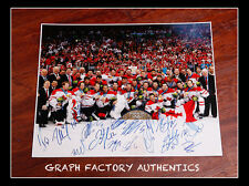**GFA 2010 Winter Olympics *TEAM CANADA* Signed 16x20 Photo AD1 COA**