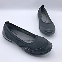 Bare Traps Hixie Women Black Fabric Elastic Ballet Flat Shoe Size 9M Pre Owned