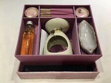 Mini Incense, Candle And Oil Burner Gift Box Set