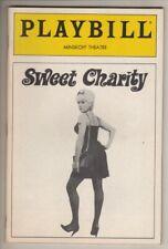 "Ann Reinking & Bebe Neuwirth   Playbill   ""Sweet Charity""  1987   REVIVAL"