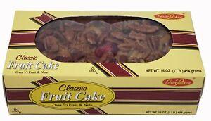 Jane Parker Classic Light Fruit Cake 16 Ounce Box Baked FRESH for 2021 FREE SHIP