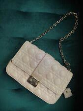 christian dior handbag Pink Purse Bag Chain Strap Leather Quilted Bag