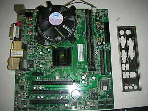 Xfx Nforce 630i 7159+ Celeron D 3,2 GHZ+1 GB ddr2 + Cooler 775