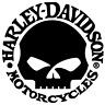 2 x Harley Davidson Skull  Logo Viele Farben Größe 10 cm x 10 cm ANSEHEN