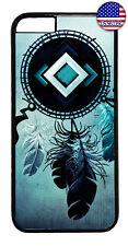 Native American Dreamcatcher Rubber Case Cover iPhone 11 Pro Max Xs XR 8 Plus 7