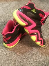 Adidas Equipment Crazy 8 Black/pink/yellow Size 13