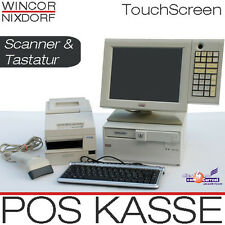 Wincor POS Till TFT Touchscreen POS Monitor Receipt Printer Bar Scanner Keyboard