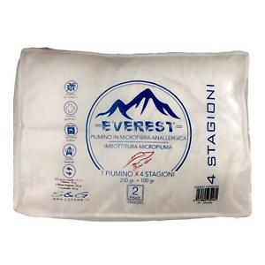 Piumino in microfibra anallergica - imbottitura micropiuma - Everest - SG HOME