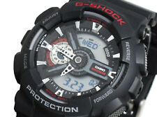 Casio G-Shock Mens Wrist Watch GA110-1A GA-110-1A Digital-Analog Black Large New