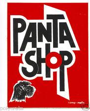 Autocollant Sticker Pub - Magasin Pantashop pantalon vêtement an. 70 / 80