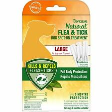 TropiClean Natural Flea and Tick Spot On Treatment for Large Dogs 3 count