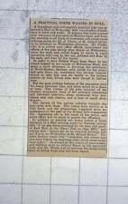 1902 Practical Joker Wanted In Hull, Bogus Orders J Clarke Jelland Street