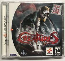 NIGHTMARE CREATURES II DC Dreamcast USA