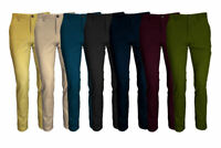 MEN'S STRETCH SLIM FIT CHINO TROUSERS