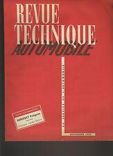 (C5)REVUE TECHNIQUE AUTOMOBILE RENAULT FRÉGATE