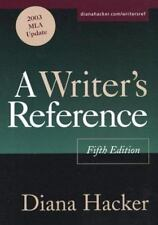 A Writer's Reference : With 2003 MLA Update by Diana Hacker (2003, Paperback)