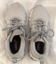 Women's ASICS tennis shoe light gray Size US 8
