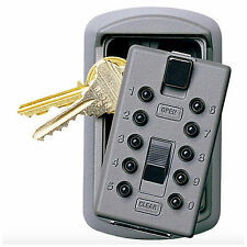 Combination Door Key Safe Lock Storage Box Wall Mount Real Estate Hide Keys New