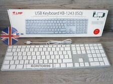 LMP Alu Mac USB Tastatur m. Ziffernblock Apple Keyboard UK engl. (QWERTY) Silber