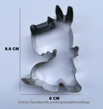 Scottish Terrier Dog Cookie Fondant Gum Paste Cutter Baking Tools