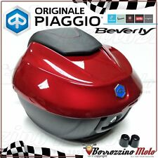 KIT BAULETTO 36LT ROSSO MUST 880/A ORIGINALE PIAGGIO BEVERLY S 300 ie EURO4 2017