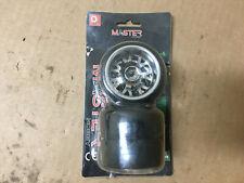 Hobbymarking 4Pcs RC 1/10 Drift Car 12mm Tires Hard Tyre Wheel for Traxxas HSP