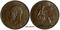 GREAT BRITAIN George V (1910-1936) Bronze 1935 1 Penny KM#838 (15 443)