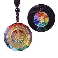 Sri Yantra Schmuck Halskette Mit Orgon Anhänger Meditaion