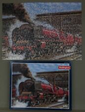 Waddington's Duchess at Carlisle train jigsaw puzzle 350p  - 1990's