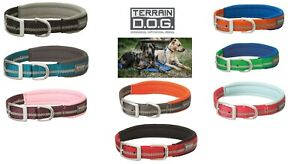 Weaver Leather Terrain D.O.G Reflective Neoprene Lined Pet Dog Collars