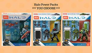 Mega Construx HALO Power Pack Active Camo/Cover Ops/Siege Armor *U CHOOSE*
