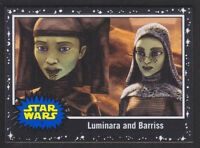Topps Star Wars - Journey To The Last Jedi - Black Parallel Card # 9