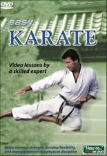 EASY KARATE Instructional Video LEARN TECHNIQUES & MORE New SEALED DVD