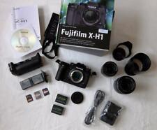 Fujifilm X-H1 Body + Battery Grip + Fujinon XF 18-55mm + XF 55-200mm - NEUWERTIG