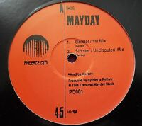 "MAYDAY / SINISTER 12"" 05 RP PHEERCE CITI RED WIGGIN FREESTYLE DERRICK MAY TECHNO"