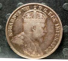 1907 Canadian Sliver 5 cent   KM# 13 A-281