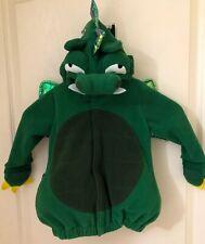 Halloween Costume Toddler Dinosaur/ Dragon Jacket Fleece Sz. 12-24 Mo. Old Navy