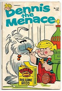 Dennis the Menace #114 (Fawcett, 1971) – Bungle Island – VG/FN
