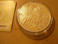 New listing 2005 Ukraine 20 gryvna 2 Oz Ag Coa, New, Proof Silver