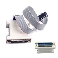 MSP430 Programmer Parallel Debugger JTAG Emulator Download Cable Parallel port