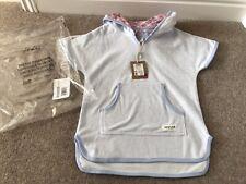 987e83873118b Joules Girls Seashore Sky Blast Towel Cover Up For Swim Beach, Age 5 -Brand
