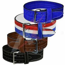 ARD Genuine Leather Power Heavy Duty Weight Lifting Body building Belt All Color