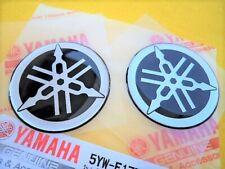 GENUINE Yamaha Stickers Decals Dome YZF R1 R6 YZ FZ1 FZ6 x 2 *** UK STOCK ***