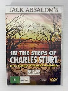 In The Steps Of Charles Sturt Jack Absalom Educational DVD Series BRAND NEW SEAL